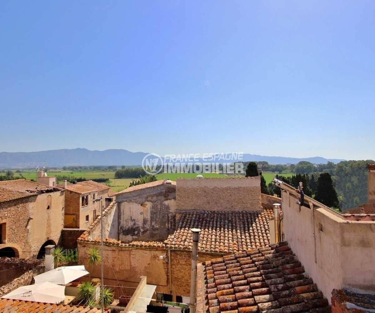 immobilier empuria brava : maison ref.3714, vue depuis la terrasse