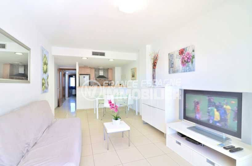 vente appartement costa brava, ref.3718, le séjour