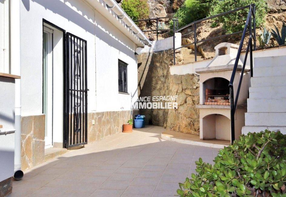 agence immobilière roses espagne ref.3713: maison sur terrain de 323 m²