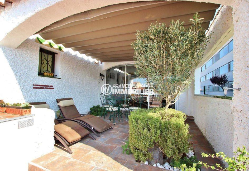 achat maison sur la costa brava, 2 chambres, terrasse 39 m², vue canal