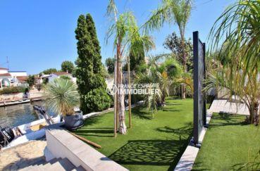 agence empuriabrava: villa ref.3720, accès direct à l'amarre de 10 m