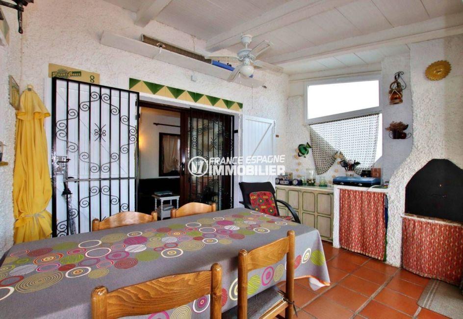 maison a vendre espagne, santa margarita, terrasse 39 m² vue canal