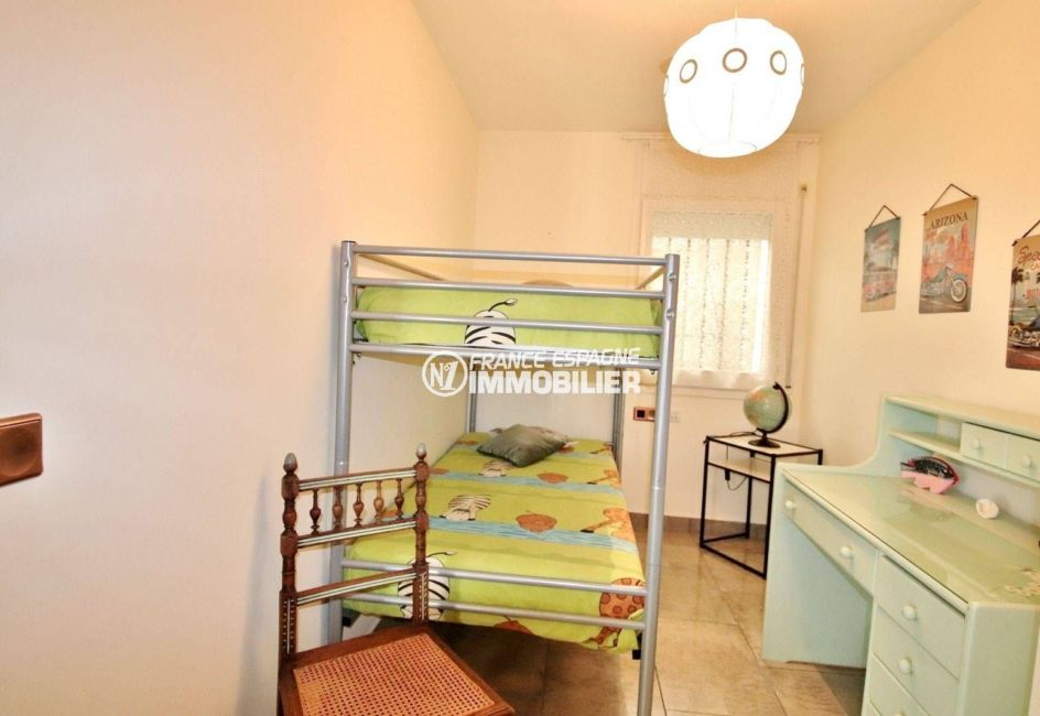 maison a vendre a rosas, ref.3713, troisième chambre avec lits superposés