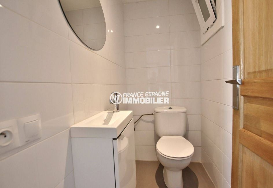 vente immobilier costa brava: villa ref.3720, toilettes indépendants avec lavabo