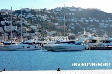 ventes immobilieres rosas espagne: villa ref.3713, port de plaisance aux alentours