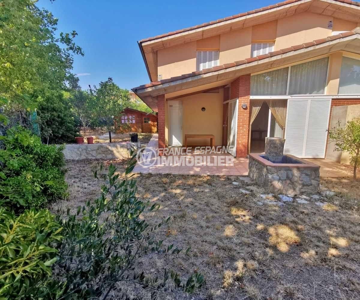 maison a vendre a rosas - villa 3 faces avec terrain