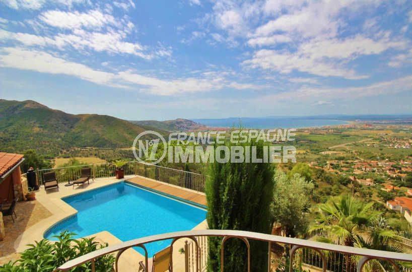 Villa Mas Fumats avec piscine et magnifique vue mer