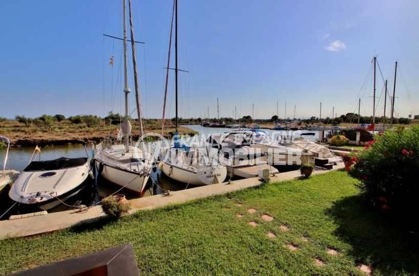 vente appartement rosas, ref.3746, vue canal, parking privé, proche plage