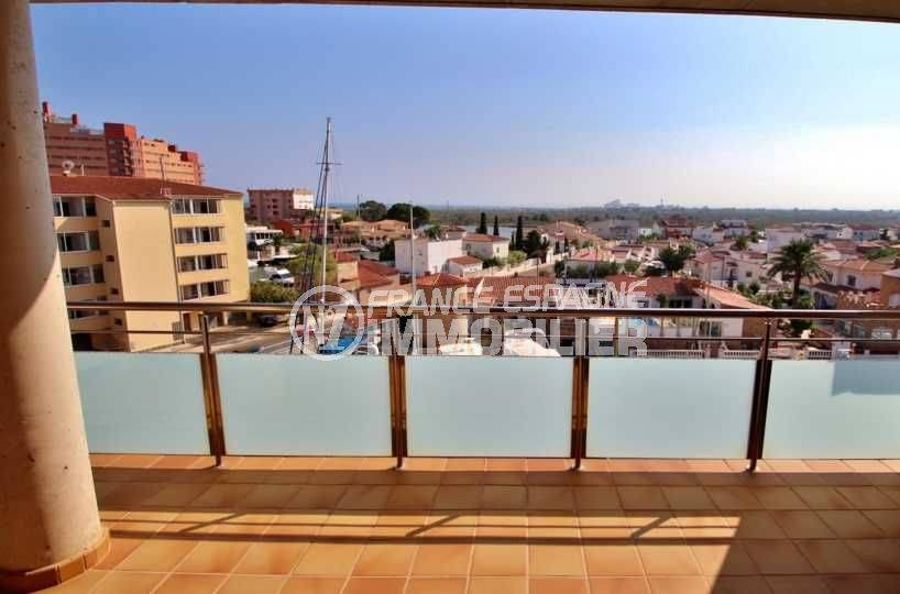 immobilier espagne costa brava: appartement ref.3745, vue terrasse 24 m²
