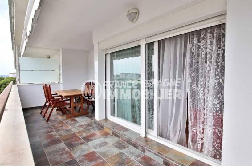 immo costa brava: appartement ref.3748, aperçu de la terrasse 17 m²