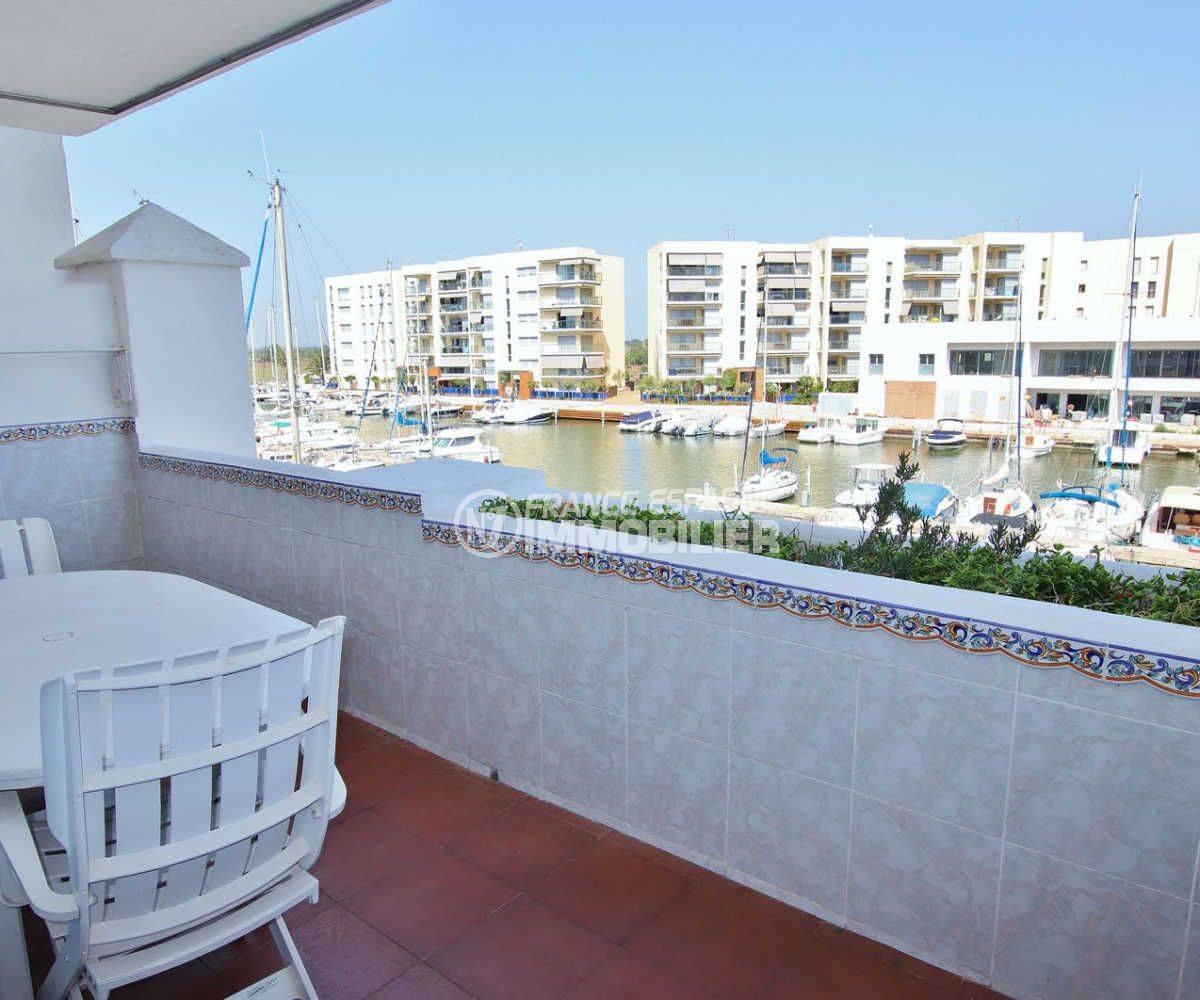 santa margarida: appartement avec piscine, vue sur la marina
