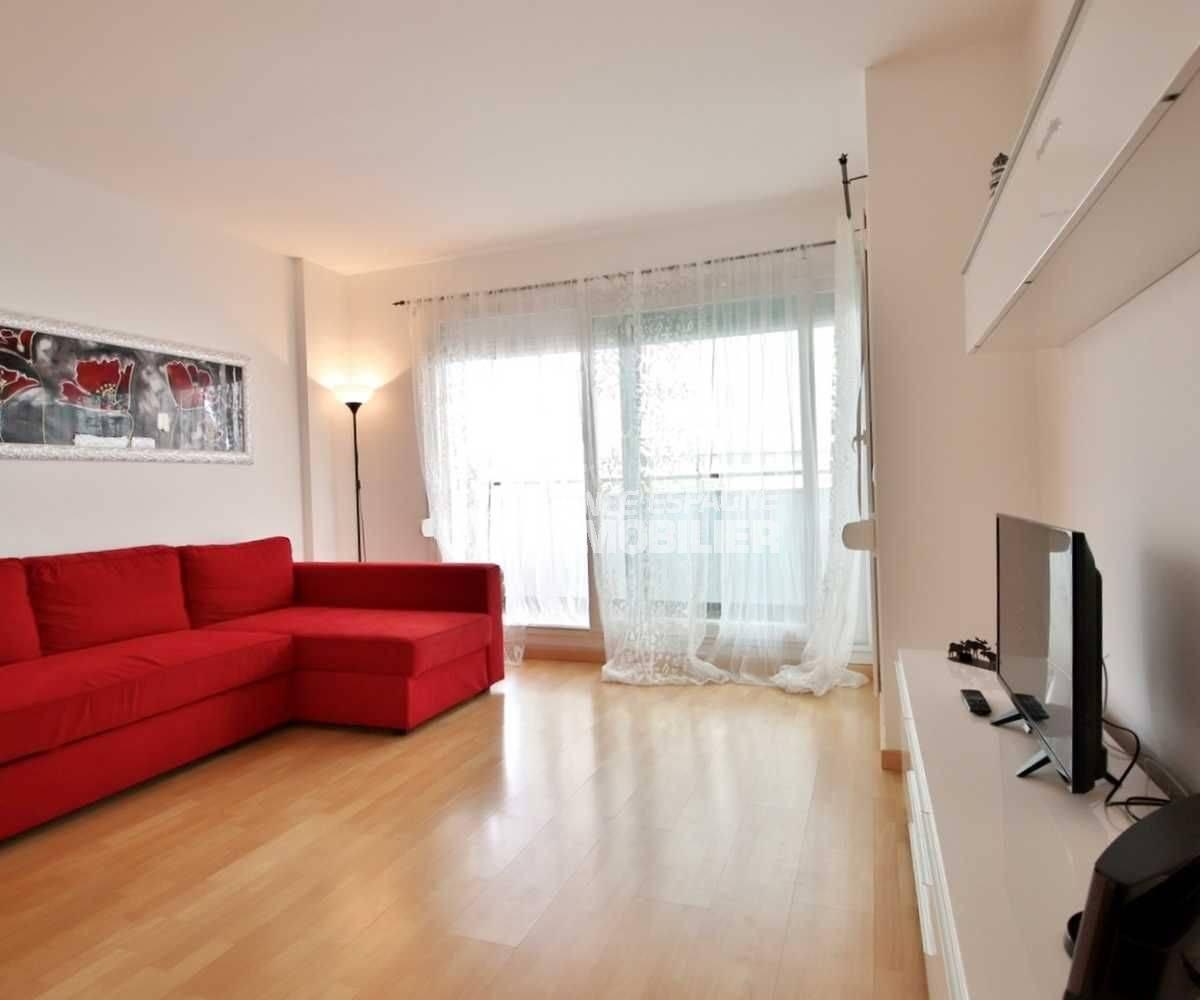 immobilier rosas: appartement ref.3748, coin salon dans la pièce principale
