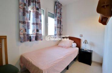 achat appartement rosas, ref.3746, chambre 3 avec lit simple