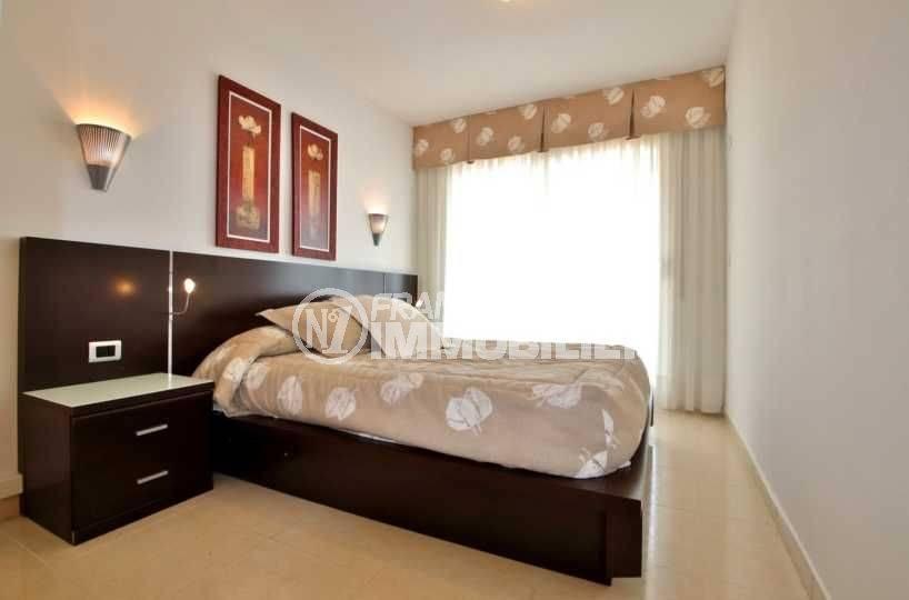 appartements a vendre costa brava: ref.3745, vue chambre parentale