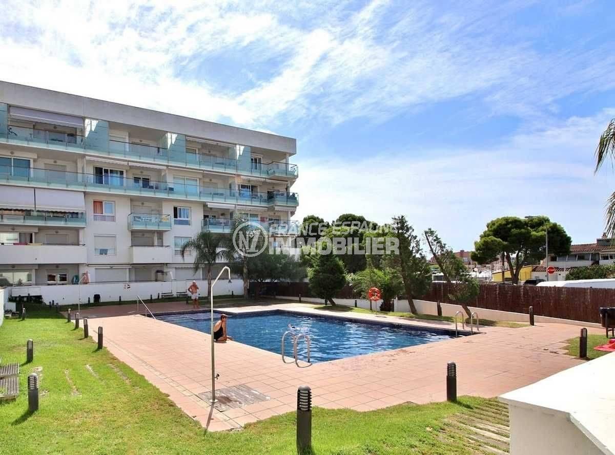 appartement santa margarida, ref.3748, résidence avec piscine