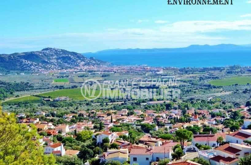 immo costa brava: villa vue imprenable sur la baie de roses, ref.377
