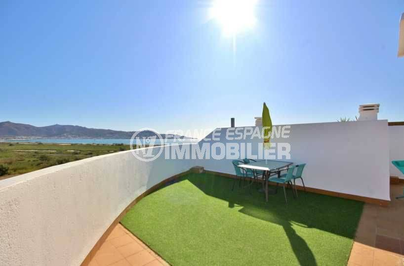 immobilier costa brava: appartement ref.3758, terrasse solarium vue mer