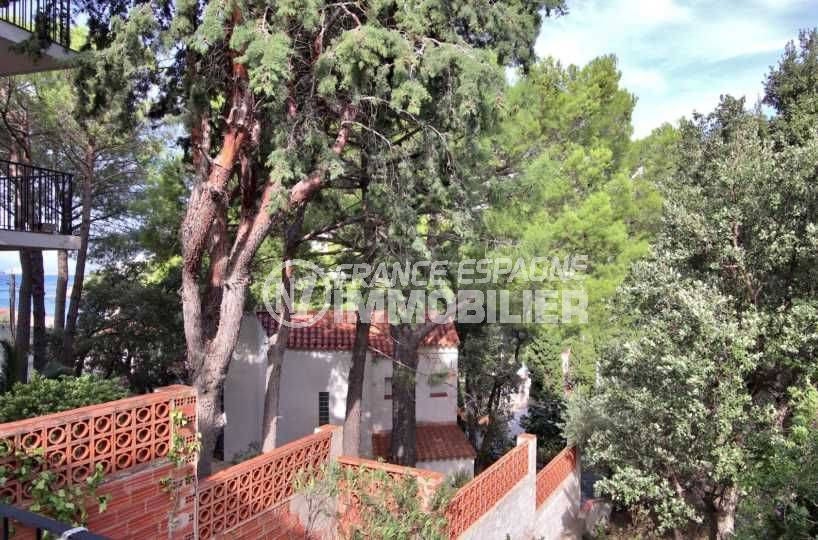 immobilier costa brava: appartement ref.3767, aperçu de la végétation depuis la terrasse