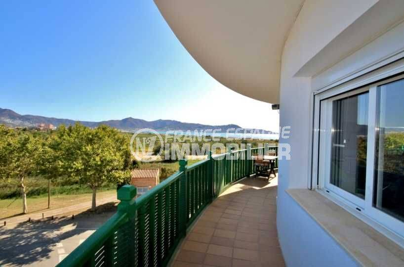 immobilier costa brava: appartement ref.3758, terrasse vue mer