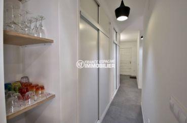 immobilier espagne costa brava: ref.3760, hall d'entrée avec couloirs et placards