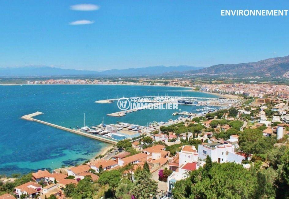 immo roses: appartement idéal pour les vacances, proche plage, bon investissement locatif