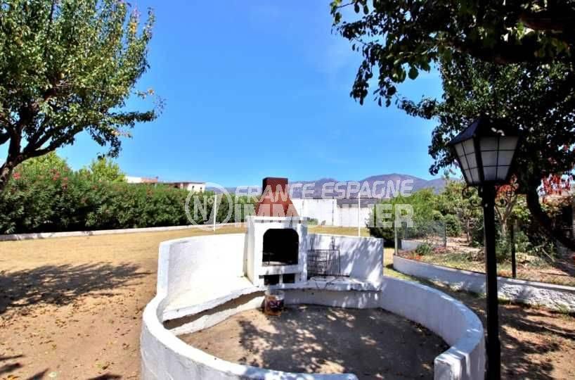 acheter appartement rosas, studio 27 m², barbecue mis à disposition à l'éxtérieur