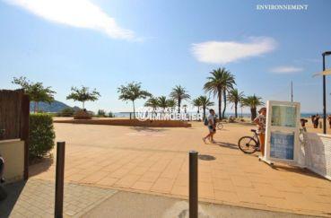 appartement a vendre costa brava, ref.3749, promenade le long de la plage de rosas à proximité
