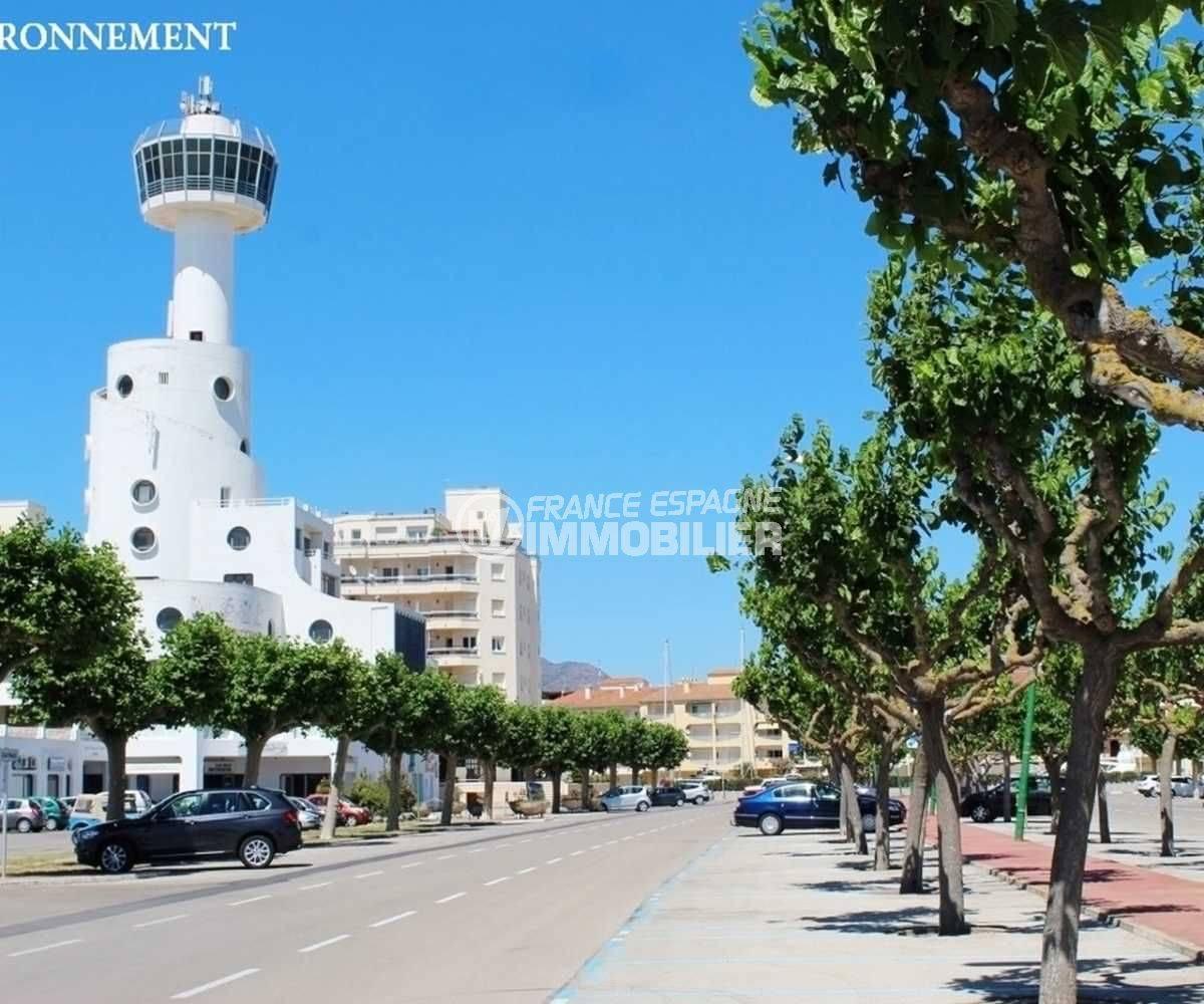agence immobiliere costa brava: appartement ref.3758, promenade proche plage