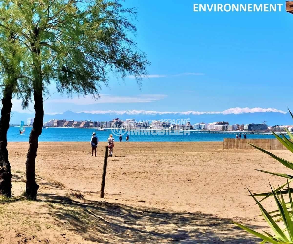 immobilier roses espagne: appartement ref.3767,  aperçu de la baie avec les sommets eneigés au fond