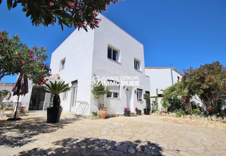 maison a vendre rosas, ref.3463, rénovée, vue mer exposition sud