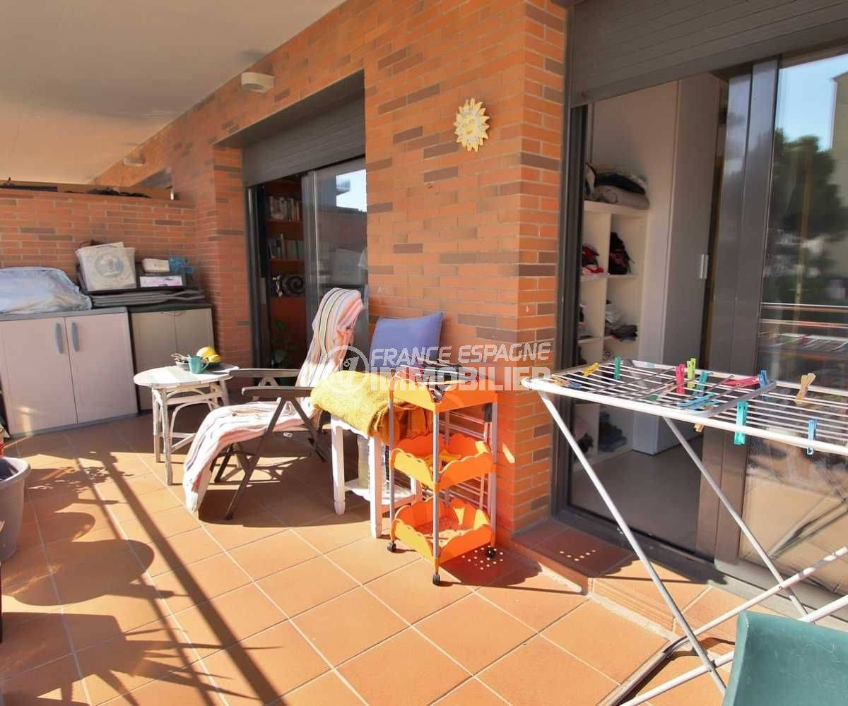 immobilier costa brava: appartement ref.3797, terrasse 15 m²