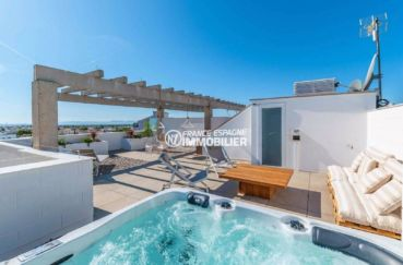 immo costa brava: appartement ref.3805, atico santa margarida terrasse solarium