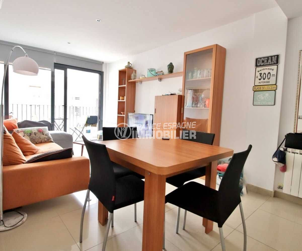 Appartement neuf centre-ville Roses
