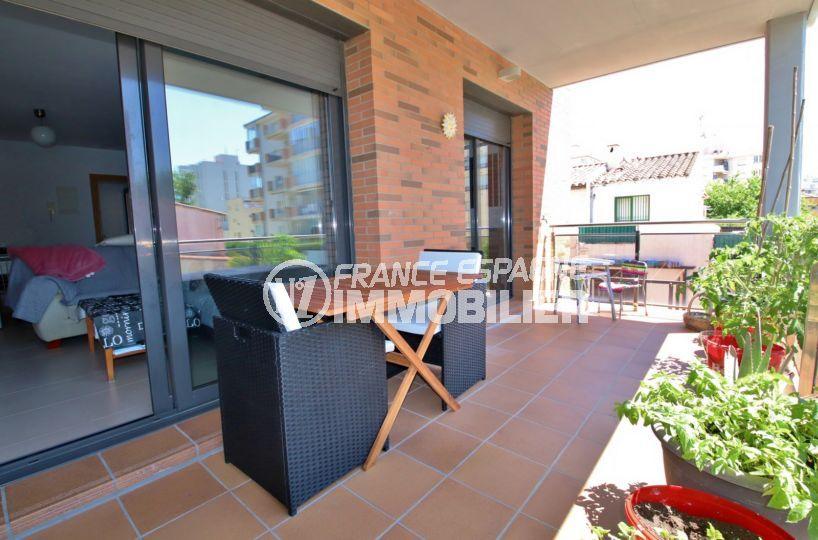 immobilier costa brava: appartement ref.3797, terrasse 15 m²