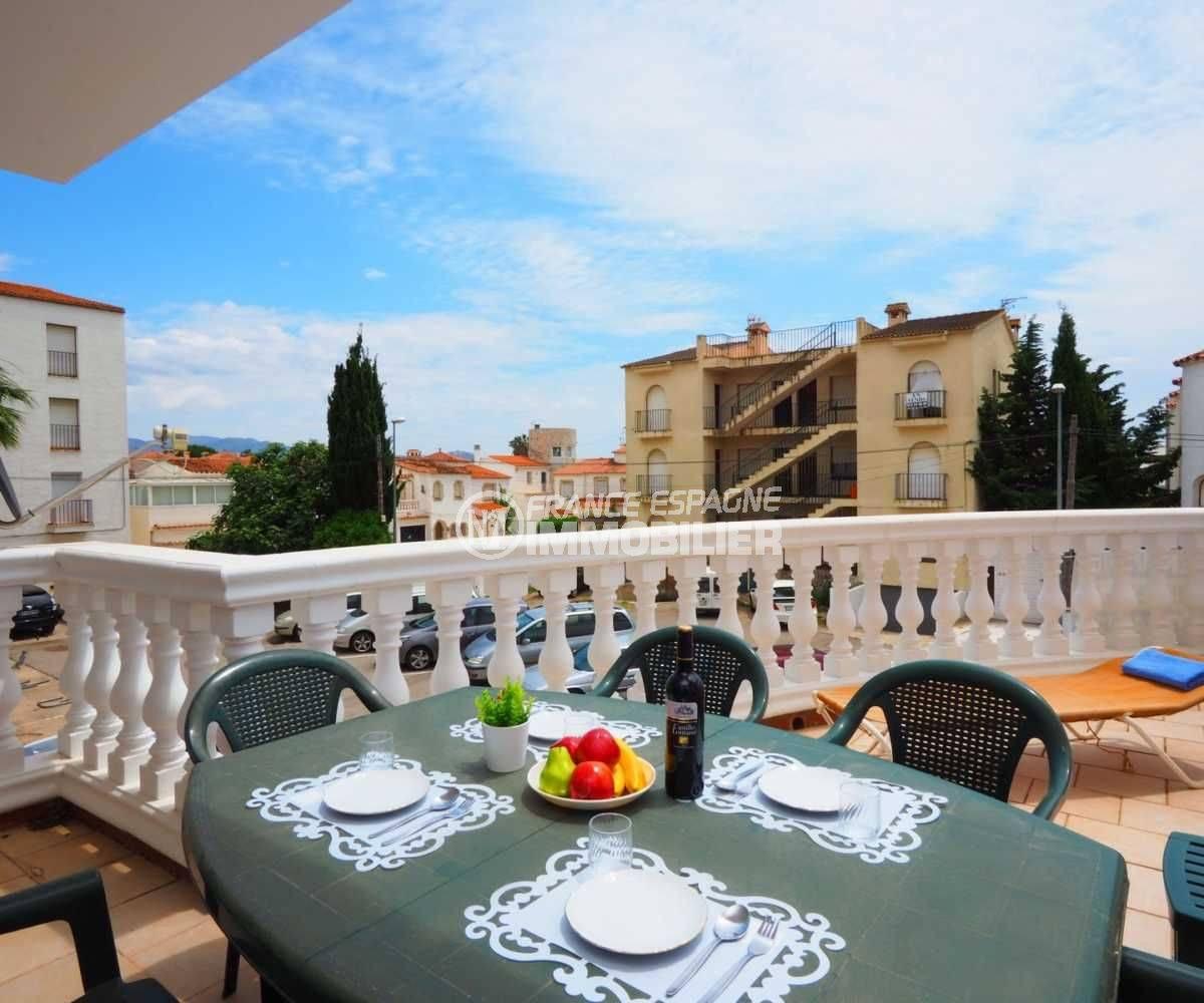 immo costa brava: appartement ref.3783, aperçu de la terrasse