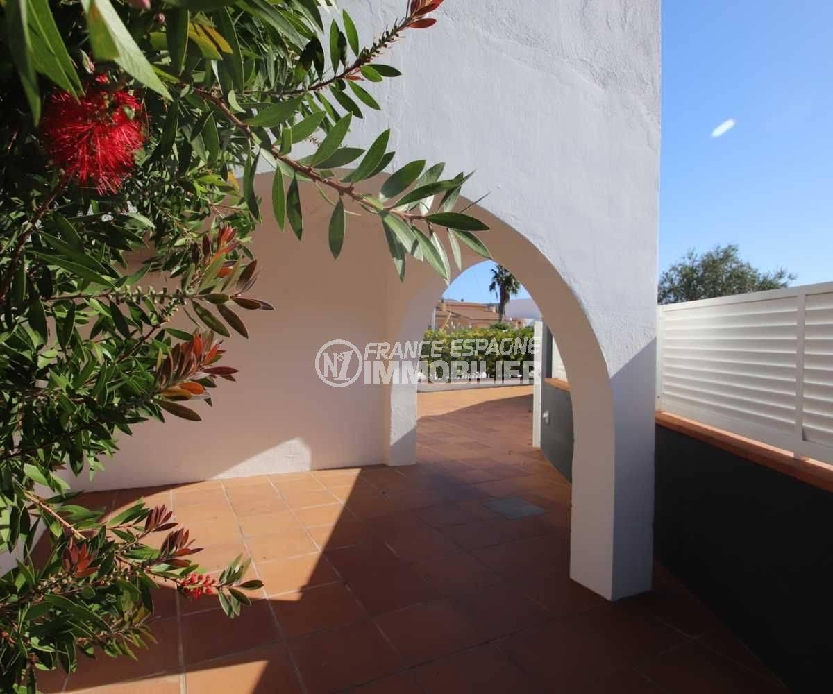 ventes immobilieres rosas espagne: ref.3796, terrasse couverte au rez de chaussée