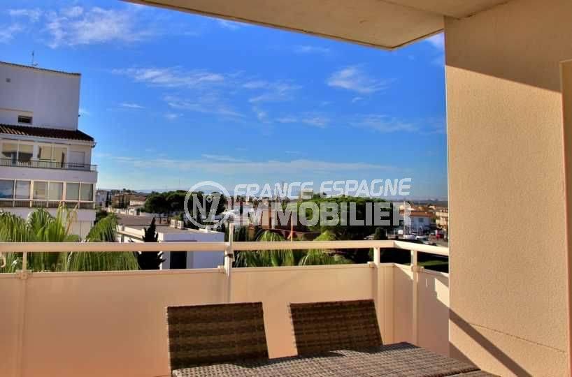 immobilier costa brava: appartement ref.3776, terrasse vue dégagée, exposition sud