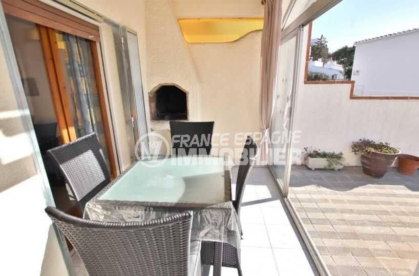 immo costa brava: villa ref.3773, terrase 10 m² avec coin BBQ, accès terrasse 20 m²