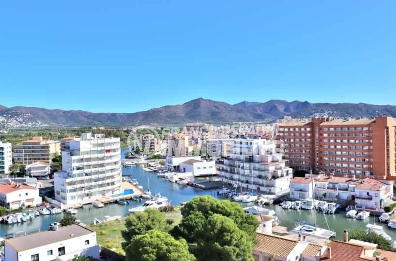 appartement costa brava, ref.3787, vue montagne et arrière pays depuis la terrasse