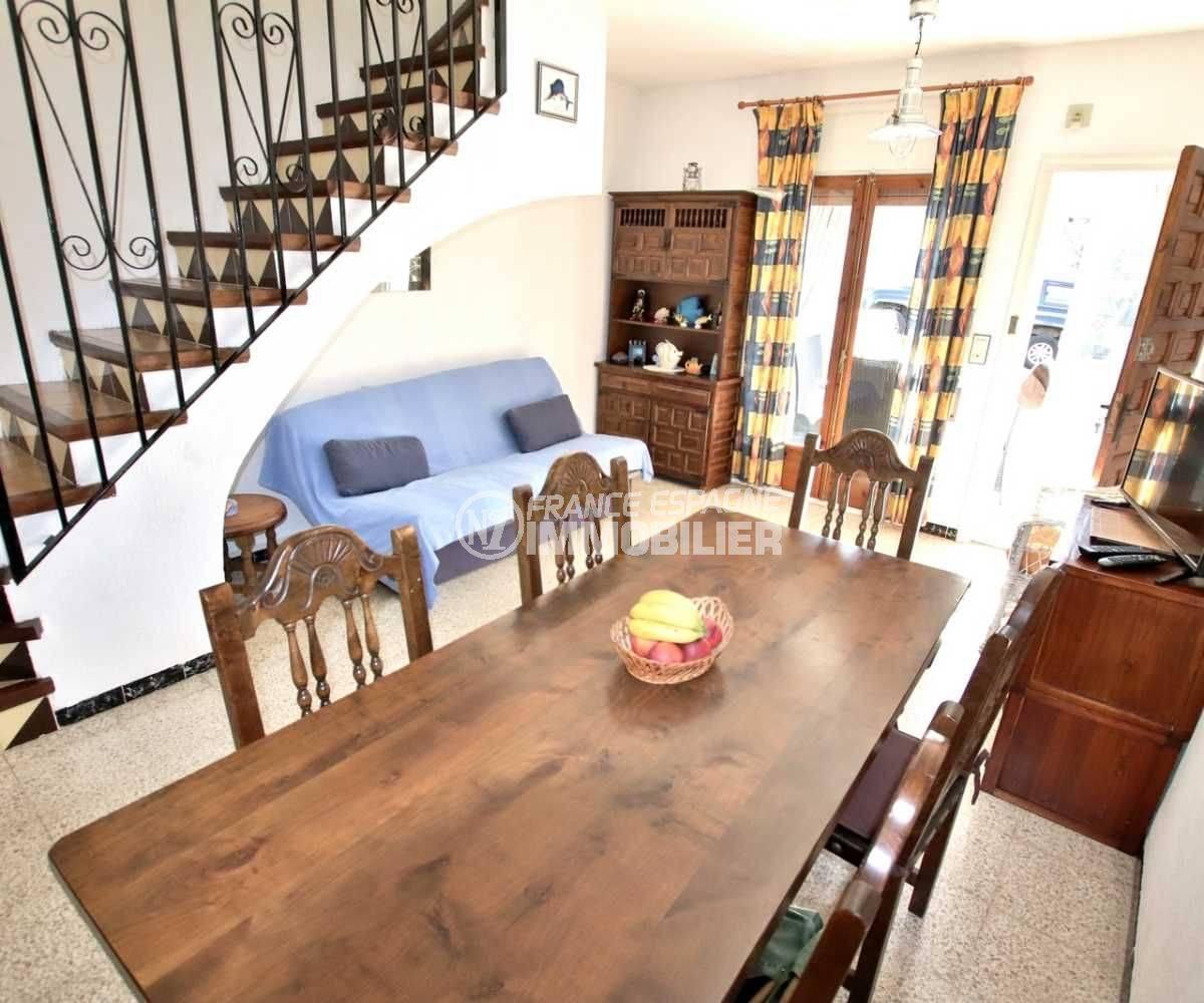 maison a vendre costa brava, ref.3773, aperçu séjour / salle à manger