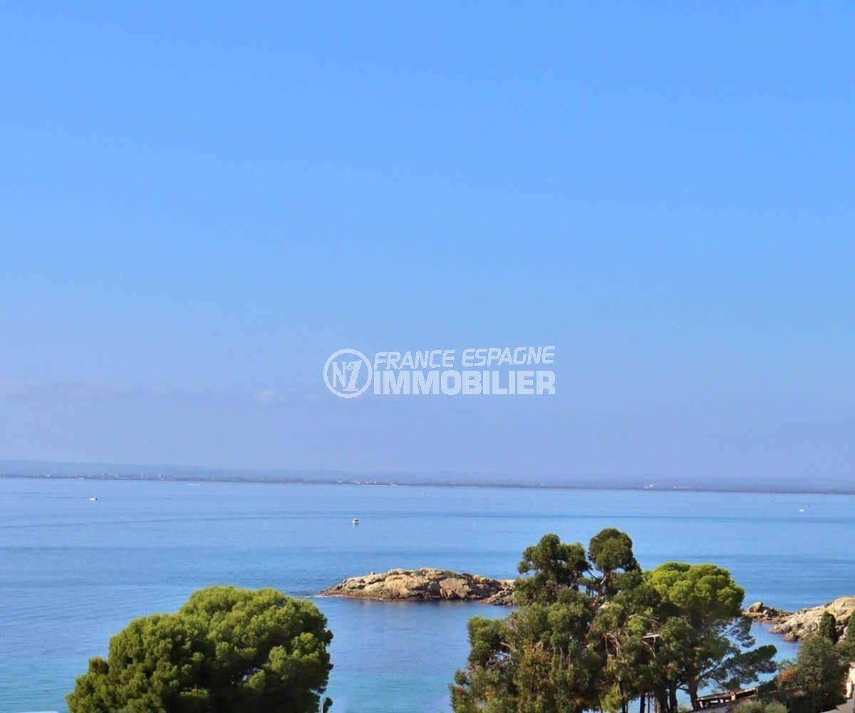 immobilier costa brava: appartement ref.3790, plage 200 m, vue mer magnifique