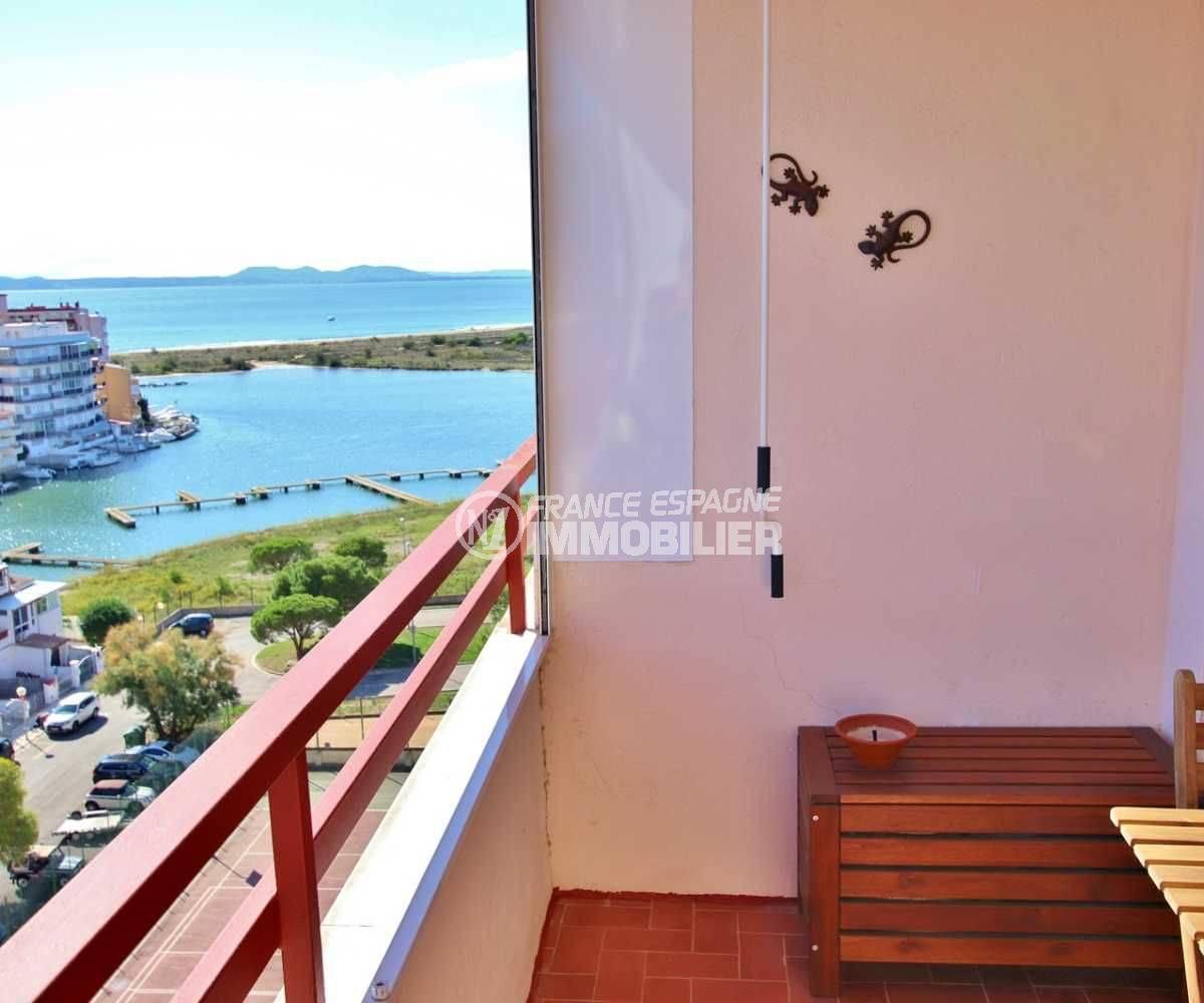 appartement a vendre costa brava, ref.3787, petit déjeuner sur la terrasse