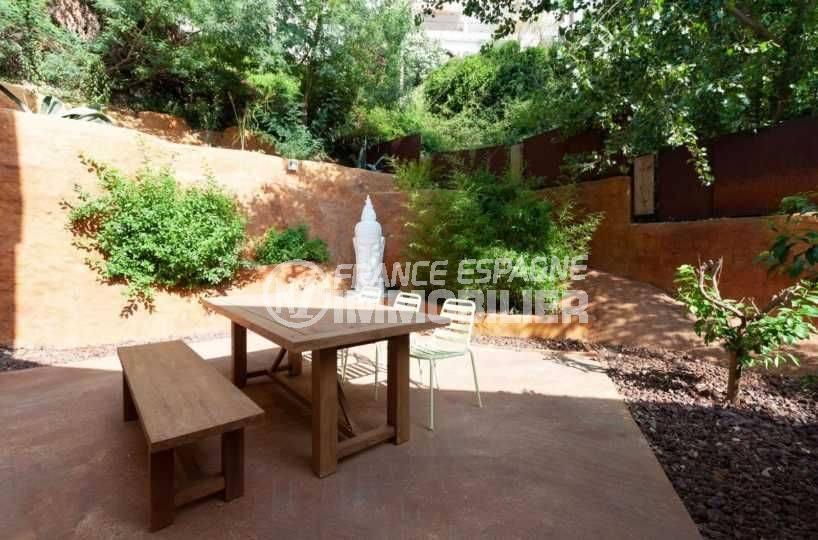 maison a vendre a rosas, ref.3803, 206 m² construit, vue coté jardin