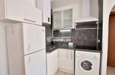 immobilier ampuriabrava: appartement ref.3784, cuisine américaine équipée