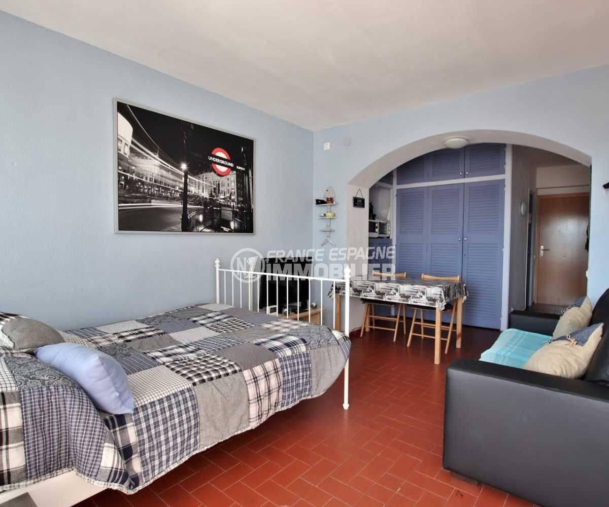 agence immobiliere rosas santa margarita: studio ref.3787, avec un coin chambre et salon