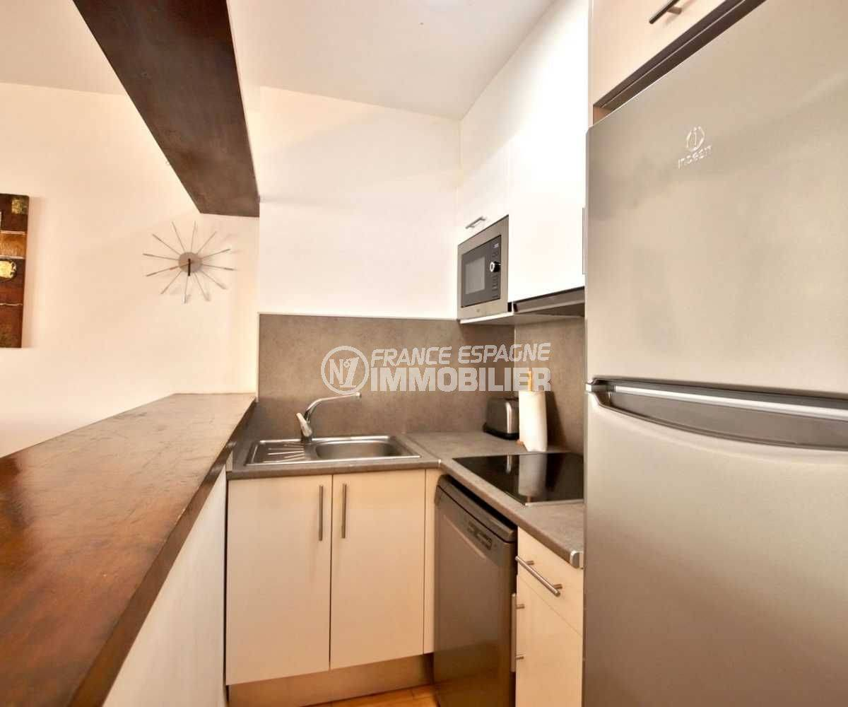 immobilier empuria brava: appartement ref.3789, cuisine américaine équipée