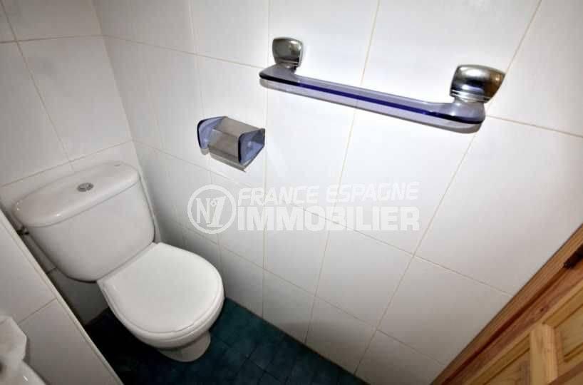 agence immo empuriabrava: studio ref.3788, toilettes dans la salle d'eau
