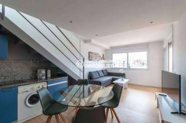 agence immobiliere rosas santa margarita: appartement ref.3805, séjour / salle à manger