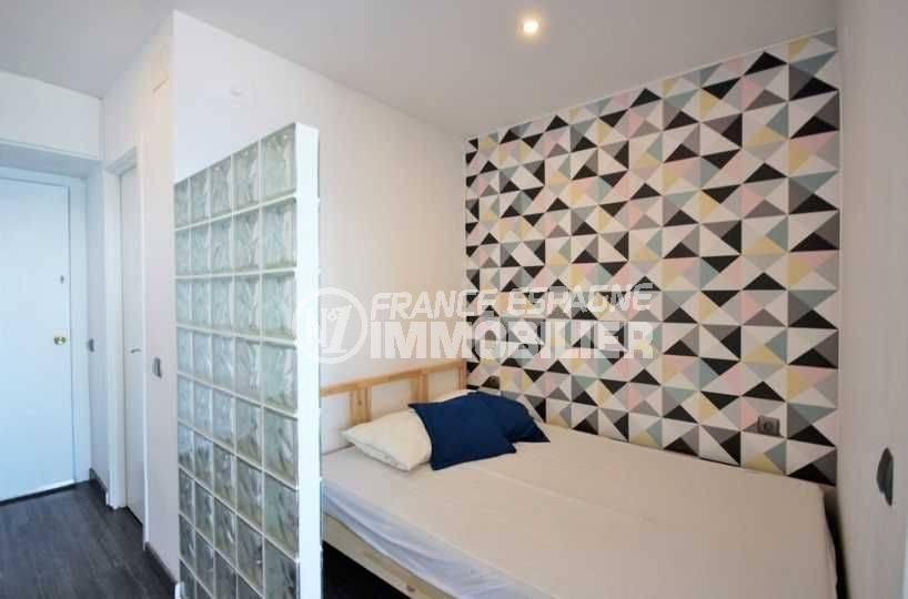 immobilier empuriabrava: studio ref.3772, aperçu du côté chambre à coucher