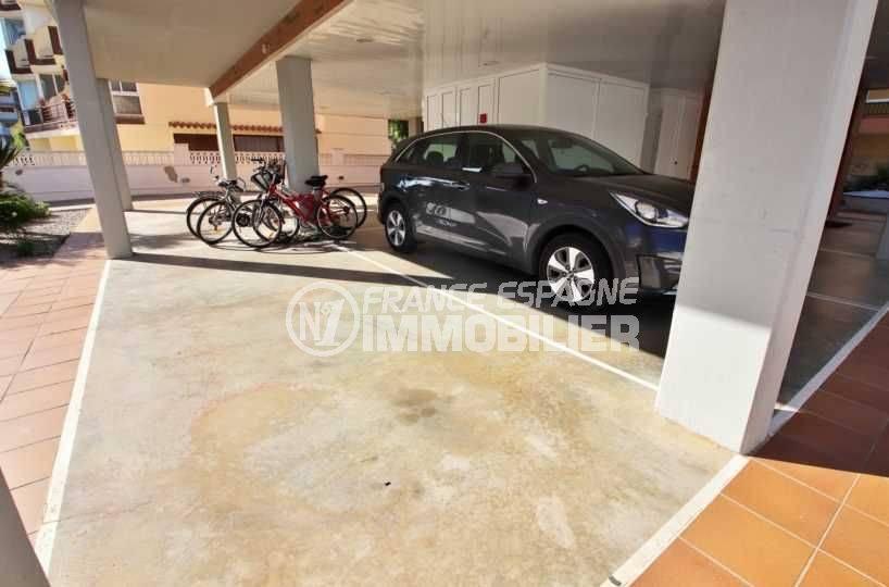 appartements a vendre a rosas, ref.3797, parking privé exterieur couvert